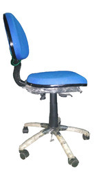Chrome Star Base ESD Chair Without Arms