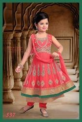 Girls Traditional Stone Work Suit