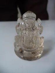 Gemstone Statue of Smokey Quartz