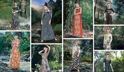 Bansi Blush-11 Ladies Gown