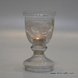 Glass Hurricane Lamps