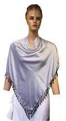 Fancy Printed With Fringes Ponchos