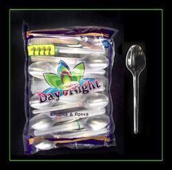 ps pop disposable plastic spoon
