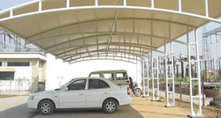 Automobile Showrooms - Tensile Structures