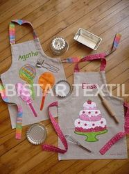 Embroidery Kids Apron