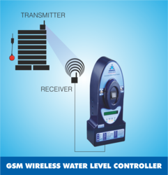 GSM Wireless Water Level Controller