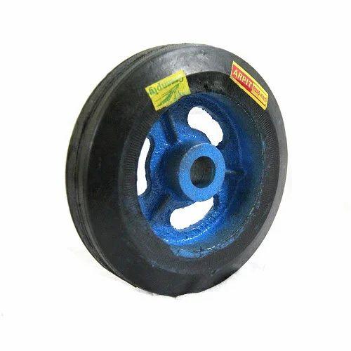 Rubber Bonded Trolley Wheel