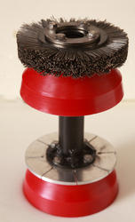 Uni Directional Cup With Gauge Plate & Circular Brush