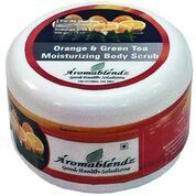 Aromablendz Orange And Green Tea Moisturizing Body Scrub