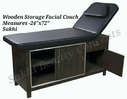 Basic Wooden Facial Couch