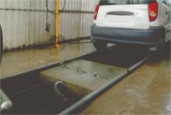 Hose Boom System Robotic Under Carriage Washing System