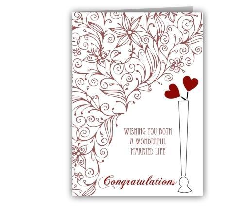 Greeting cards wedding greeting card manufacturer from new delhi wedding greeting card m4hsunfo