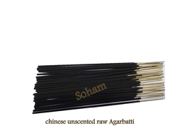 Chinese Unscented Raw Incense Stick
