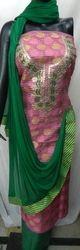 Aaditri Ladies Zari Gota Patti Suit