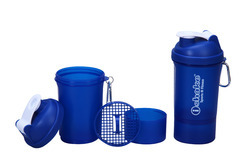 iShake 020 Smart One Blue Body Shaker Bottle