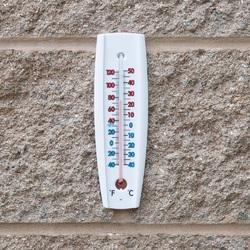 Wall Thermometer Pagoda Type
