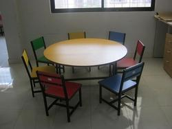Wooden Nursery Table- Chair