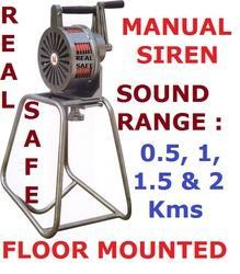 Manual Siren