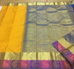 Silk Saree Kanchipuram Silk Pure Silk Handloom Saree