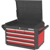 Red-28 6 Drawer Professional Top Chest