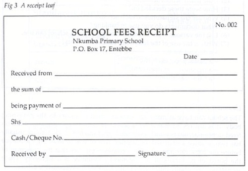 Fee Receipt Book View Specifications Amp Details By