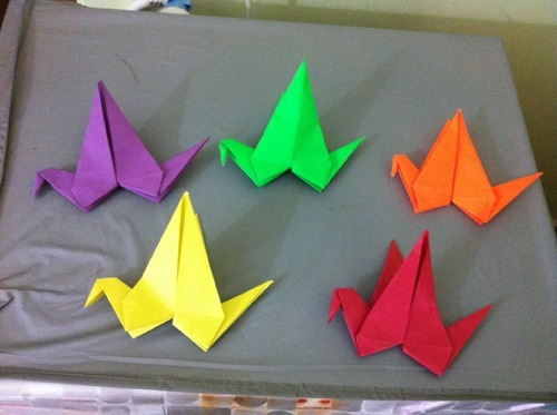 Paper Birds Various Types Origami Flapping Paper Bird