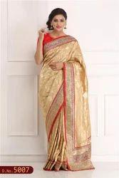 Designer Hand Woven Saree