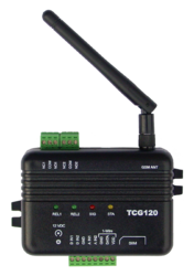 GSM-GPRS Temperature Monitoring and Control