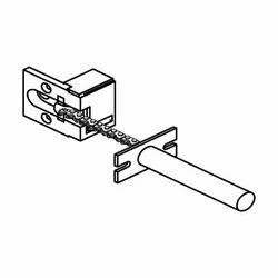 Spring Loaded Security Door Chain
