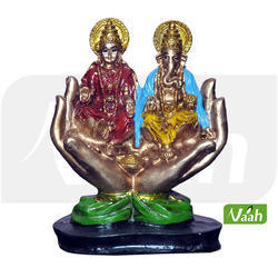 Vaah Polyresin Laxmi Ganesh Statues