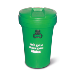 Waste Bins with Closed Lid