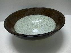 Prayosha Stone Basin With Brown Ring