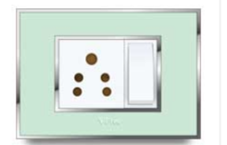 Glass Plate Real Glass Finish Electrical Switch