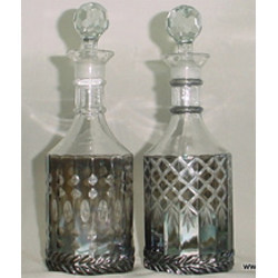 Glass Bottle And Decanter