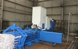 Horizontal Paper Baling Press