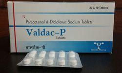 Paracetamol & Diclofenac Potassium Tablets
