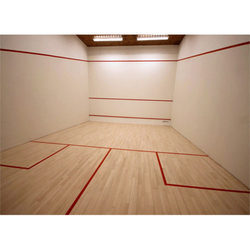 Squash Wooden Court Flooring