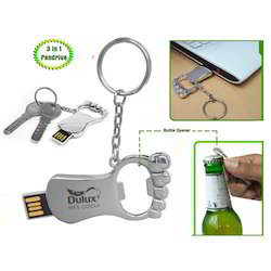 Opener Pendrive with Keyring