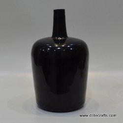 Black Color Glass Bottle
