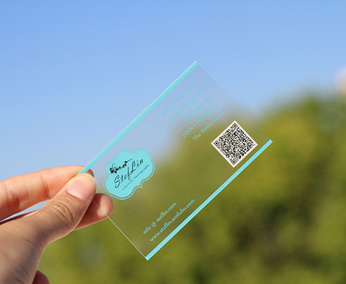 Visiting card printing service transparent visiting card printing transparent visiting card printing service reheart Image collections