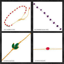 Natural Gemstone Bracelets & Bangles