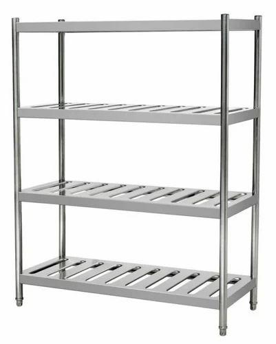 Kitchen Shelf Rack Singapore: SS Storage Racks Manufacturer From