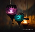 Glass Hanging Lantern