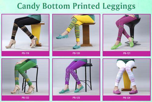 CaNdy Bottom Printed Leggings