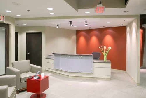 Office furniture professional office interior design and for De square design and interiors