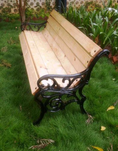 Benches - Wooden Garden Bench Manufacturer from Mumbai