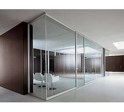 Framed Office Glass Partition