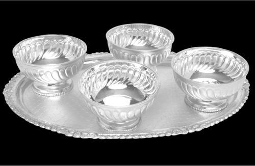 Silver Kitchen Products Silver Bowl Set Manufacturer From Kolkata