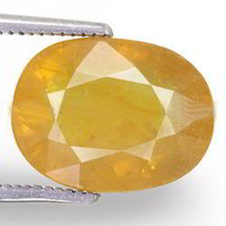 7.13 Carats Yellow Sapphire