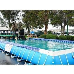Swimming pool types over flow type swimming pool for Piscine portable intex